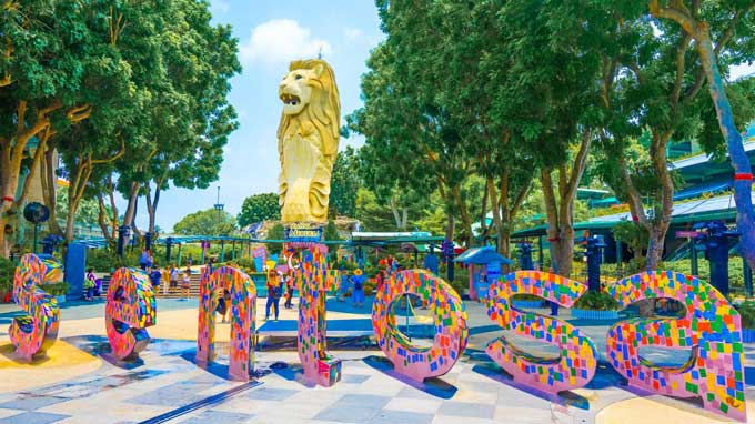 Vì sao Singapore lại được gọi là đảo quốc sư tử dù không có sư tử?