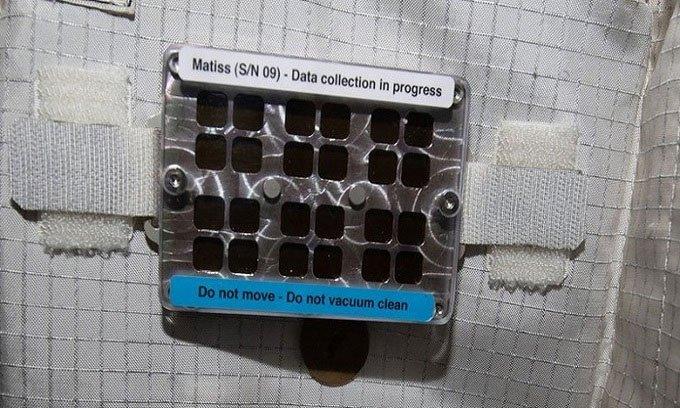 Vị trí không được dọn vệ sinh trên trạm ISS