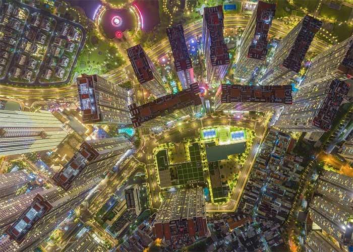 Việt Nam đẹp lạ lùng qua loạt ảnh chụp từ trên cao