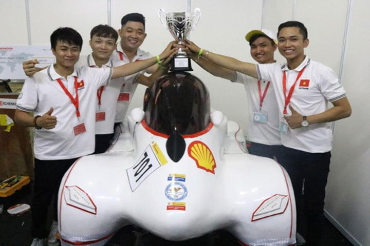 Việt Nam lần thứ 5 vô địch châu Á về xe tiết kiệm nhiên liệu