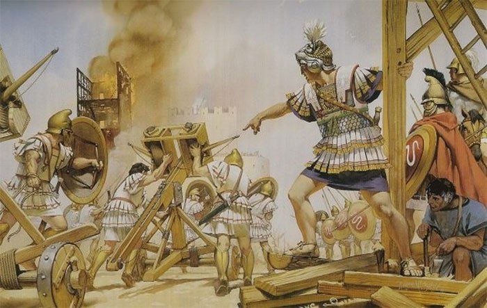 Vũ khí chết người suýt diệt sạch quân đội của Alexander Đại đế