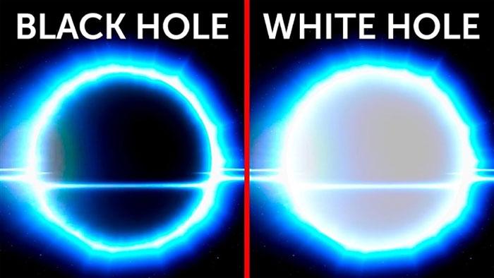 Vũ trụ đâu chỉ có hố đen, đã ai biết hố trắng cũng đáng gờm không kém?