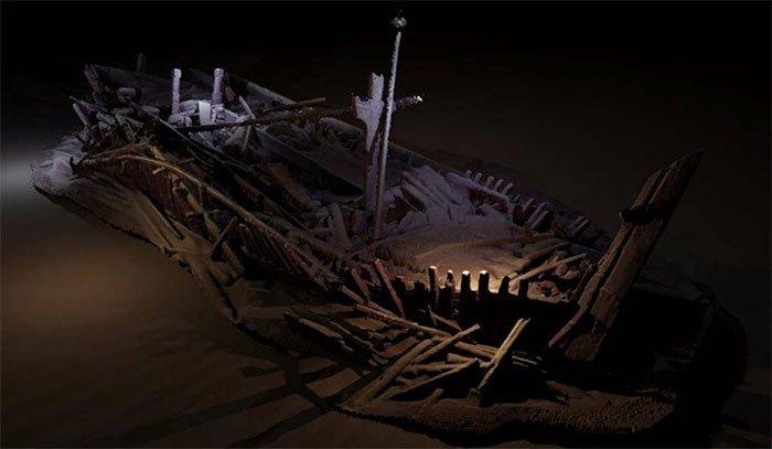 Vùng chết giữ xác tàu nguyên vẹn hàng nghìn năm dưới biển Đen