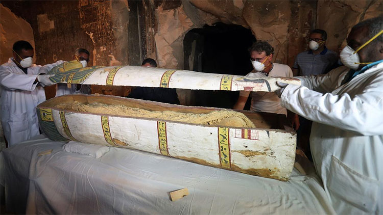 Xác ướp người phụ nữ nguyên vẹn 3.000 năm trong mộ cổ Ai Cập
