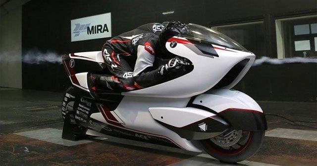 Xe máy điện tốc độ 402 km