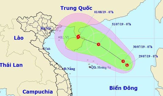 Xuất hiện vùng áp thấp trên biển Đông, có thể hướng vào Việt Nam