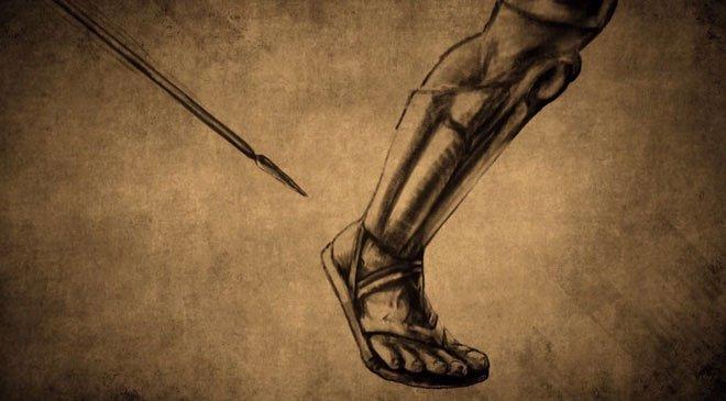 Ý nghĩa thực sự của câu nói gót chân A-sin nhiều người vẫn dùng