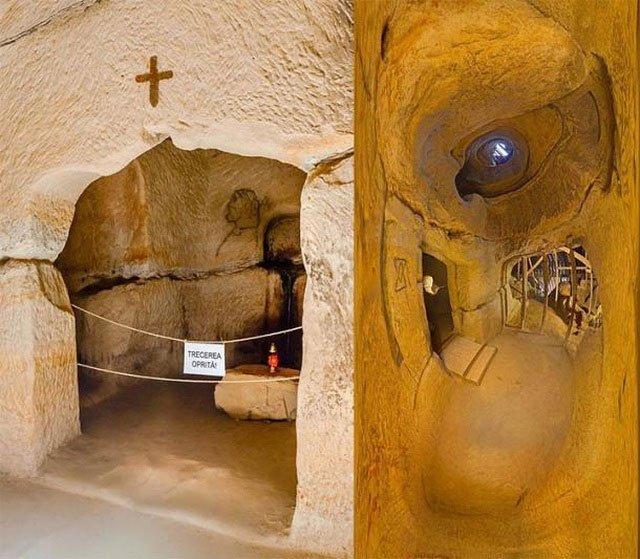 Ngôi đền bí ẩn 7.000 năm tuổi dưới lòng đất của Romania
