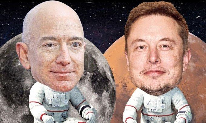 Tham vọng điên rồ của Elon Musk và Jeff Bezos