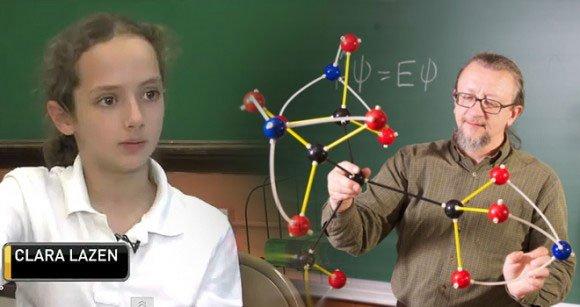 10 tuổi khám phá cấu trúc phân tử mới