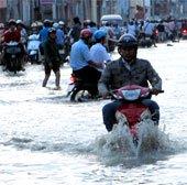 20% diện tích Sài Gòn ngập khi nước biển dâng một mét
