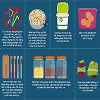50 mẹo giúp tạo thói quen sử dụng ít nhựa hơn