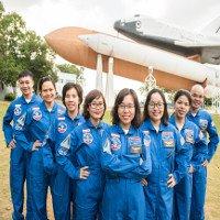 8 giáo viên Việt Nam được đào tạo mô phỏng phi hành gia