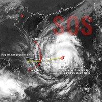 Accu Weather cập nhật dự báo hiểm họa bão Damrey với Việt Nam, Lào, Campuchia