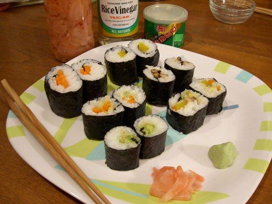 Ăn nhiều sushi có hại cho sức khỏe