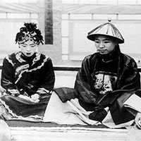 Ảnh hiếm về cách tổ chức hôn lễ của một gia đình quý tộc Trung Quốc thời nhà Thanh