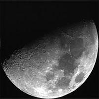 Ánh sáng lạ cản trở con người khám phá Mặt trăng