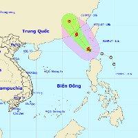 Áp thấp nhiệt đới mạnh lên thành bão số 9, miền Bắc mưa trên diện rộng