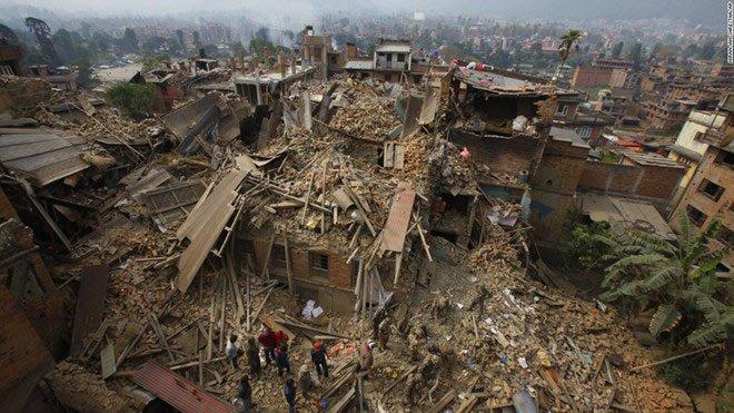 Bài học từ thảm họa động đất ở Nepal