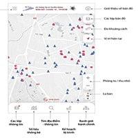 Bản đồ giúp người dân TP.HCM tìm đường tránh nơi có nguy cơ lây nhiễm