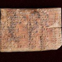 Bảng lượng giác 3700 năm của người Babylon