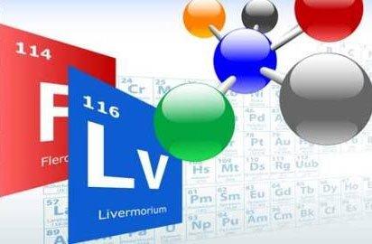 Bảng tuần hoàn thêm hai nguyên tố siêu nặng