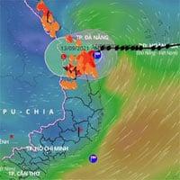 Bão Conson đổ bộ vào đất liền, suy yếu thành áp thấp nhiệt đới, mưa lớn từ Thanh Hóa đến Quảng Ngãi