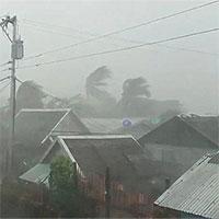 Bão Kammuri đổ bộ vào Philippines trong đêm, ít nhất 1 người chết