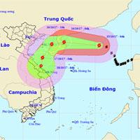 Bão Khanun suy yếu thành áp thấp nhiệt đới