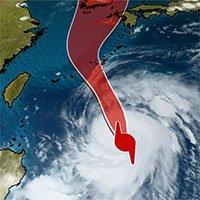 Bão Maysak cực mạnh ở Tây Thái Bình Dương sẽ đổ bộ nước nào?
