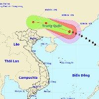 Bão Nida đổ bộ vào Hồng Kông