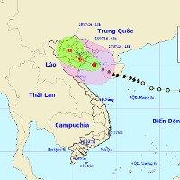 Bão số 1 bất ngờ đổi hướng, có thể đi qua Hải Phòng, Hà Nội
