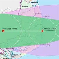 Bão số 12 gây mưa rất lớn ở miền Trung, bão số 13 đã