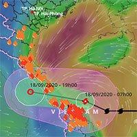 Bão số 5 đang áp sát đất liền, lốc xoáy giật tung mái nhà ở Hà Tĩnh