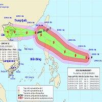 Bão số 5 mạnh lên, nín thở chờ siêu bão Mangkhut