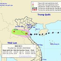 Bão Sơn Tinh suy yếu thành áp thấp, Bắc Trung Bộ mưa lớn