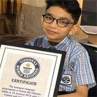 Bé trai 6 tuổi ở Ấn Độ trở thành lập trình viên trẻ nhất thế giới