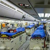 """Bên trong """"bệnh viện bay"""" Airbus A310 của quân đội Đức"""