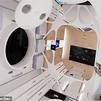 Bên trong khách sạn vũ trụ đầu tiên, khách ngắm Mặt trời mọc 16 lần/ngày