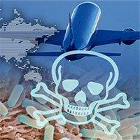 Bệnh truyền nhiễm, máy bay thương mại: