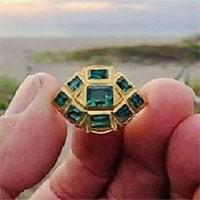 Bí ẩn chiếc nhẫn vàng nạm ngọc lục bảo trị giá 17 tỷ đồng của người Inca
