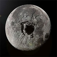 Bí ẩn gì sẽ xảy đến nếu chúng ta khoan một hố sâu 3000km xuyên qua tâm của Mặt trăng?