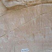 Bí ẩn hình nhện trên đá trong lễ mở miệng xác ướp