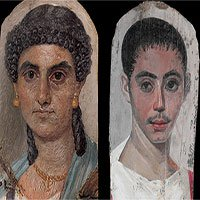 Bí ẩn những bức chân dung xác ướp Ai Cập cổ: Vẽ chính chủ và đa phần là nguyên liệu ngoại