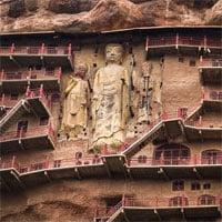 Bí mật về hang động cổ chứa hàng nghìn tượng Phật