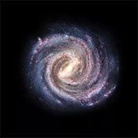 """Bị """"vòng kim cô"""" siết chặt, thiên hà chứa Trái đất quay chậm lại"""