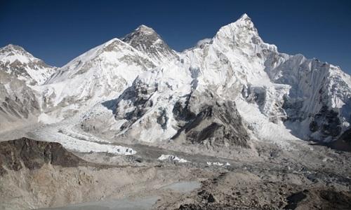 Biến đổi khí hậu có thể khiến 5.500 sông băng Everest biến mất
