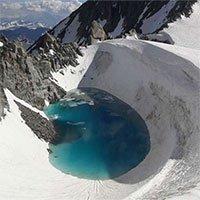 Biến đổi khí hậu ngày càng trầm trọng: Xuất hiện hồ nước mới hình thành trên dãy Alps