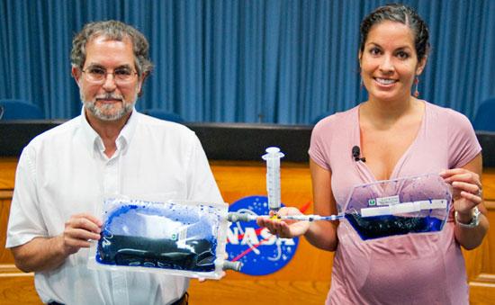 Biến nước tiểu thành nước uống trong vũ trụ