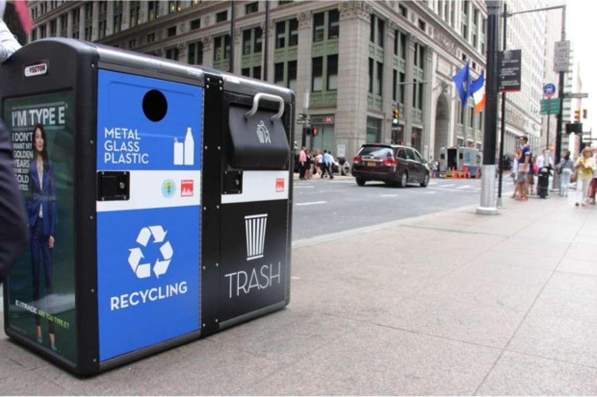 Biến thùng rác thành trạm phát WiFi miễn phí